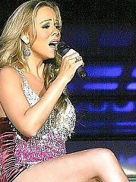 Celebrity upskirt, Upskirt ass, Mariah carey