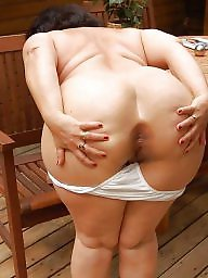 Bbw mature granny ass