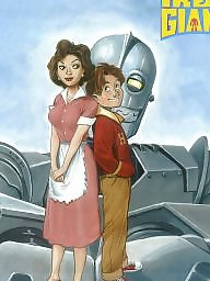 Cartoons, Iron giant, Cartoon, Giant