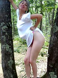 Outdoor, Amateur outdoor, Outdoors, Blonde, Fun, Blond