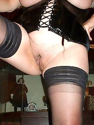 Mature stockings, Moms, Mom