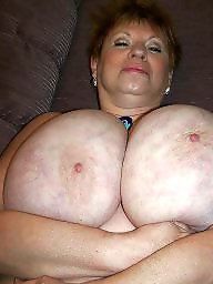 Big nipples, Mature tits, Aunt