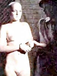 Vintage bdsm, Naked