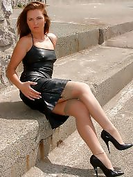 Femdom, Skirt, Leather skirt, Leather, Skirts