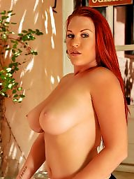 Redheaded pornstar, Redhead pornstar, Redhead milf big boobs, Redhead busty, Paige e, Paige delight