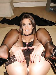 Moms, Mom, Aunt, Mature stockings, Lingerie