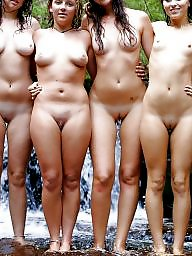 Nude, Teen nude, Group