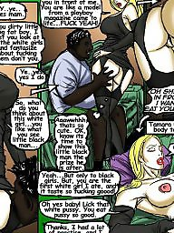 Interracial cartoons, Interracial cartoon, Cartoon, Illustrated interracial, Illustrated, Interracial