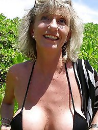 Granny beach, Mature, Mature beach, Granny boobs, Beach, Big boobs