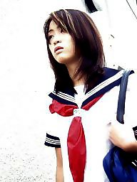 School girl, School girls, School, Japanese amateur