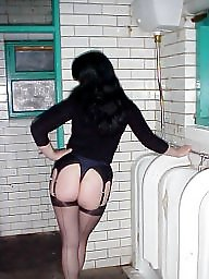 Public stockings, Public milf, Milf public, Toilet, Stocking milf, Public slut