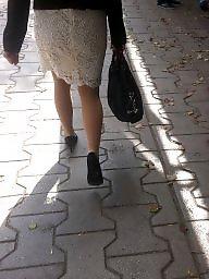 Mature upskirt, Skirt