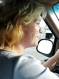 Her cumming, Driving, C thru, Thru, Her cum, Drive thru