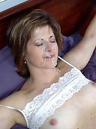 Facials, Facial, Hairy milf, Hairy amateur, Hairy cunts, Barbara
