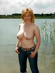Mature busty, Blond mature, Busty mature, Hot wife, Busty wife, Blonde wife