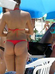 Butt, Thong, Beach