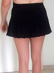 Mini skirt, Skirt, High heels, Milf skirt, Mini, Milf heels