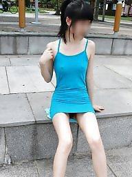 Asian public, Nude in public