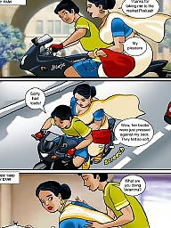 Comics, Aunty, Mature cartoon, Mature aunty, Old cartoon, Cartoons old young