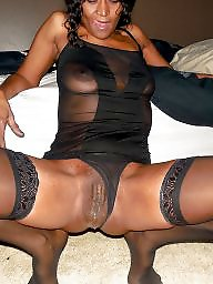 Ebony stockings, Ebony amateur, Amateur stockings, Wife stockings, Black stockings, Ebony wife