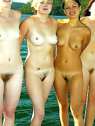 Beach, Group, Nude, Teen beach, Nude beach