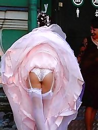 Upskirt stockings, Bride, Brides