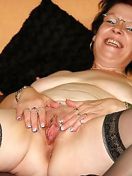 Glasses, Mature glasses, Amateur mature