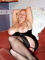 Bbw stocking, Bbw blonde, Blonde bbw