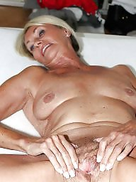 German, Grannies, Blond mature