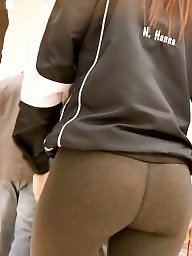 Leggings, Voyeur, Ass