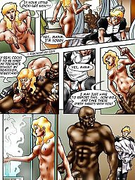 Interracial cartoon, Sissy, Interracial cartoons