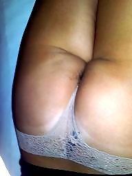 Hairy ass, In bed, Hairy wife