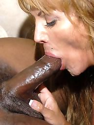 Mature interracial, Black mature