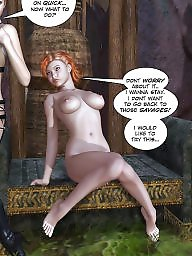 Cartoon bdsm, Comics cartoon, Lesbian cartoons, Comic, Bdsm cartoons, 3d comics