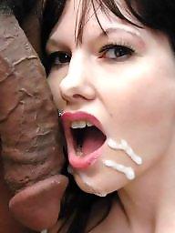 Cock, Cocks, Facials, Facial, Interracial