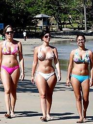 Beach, Group, Bikini, Bikinis, Beach boobs