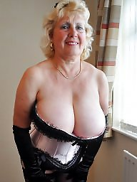 Busty old grannies