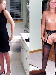 Mature dressed undressed, Milf dressed undressed, Sexy milf, Sexy mature, Dressed and undressed, Dress