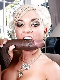 Bbc blowjob, Interracial blowjob, Interracial