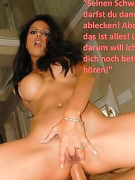 Femdom captions, German, German captions, German caption, Captions, Femdom caption