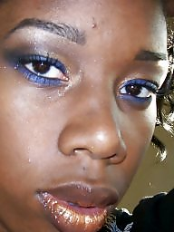 Ebony facial, Facials, Amateur ebony, Amateur facial, Ebony, Black