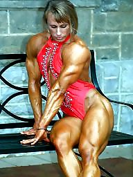 Cums, Muscle, Muscled, Femdom