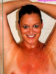 Showering milf, Shower milf, Shower matures, Milf, shower, Milf shower, Milf fun