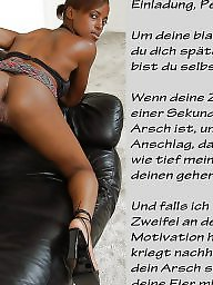 German captions, Femdom, Femdom captions, Caption, German caption, German