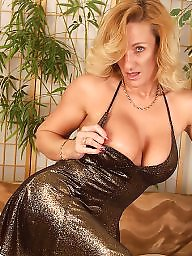 Mature busty, Blond mature, Mature boobs