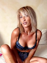 Mature lingerie, Lingerie, Blond mature