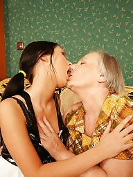 Grandmother, Cute, Young, Old young lesbian, Mature fucking, Old young
