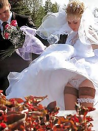 Milf upskirt, Milf bra, Panties, White panties, Wedding, Brides
