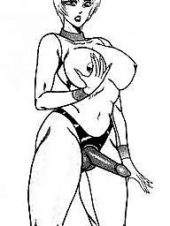 Femdom cartoon, Cartoon bdsm, Strapon cartoon, Bdsm cartoons, Cartoon anal, Cartoons