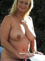 The bike, Nudes matures, Nudes mature, Nude matures, Mature biking, Mature bike
